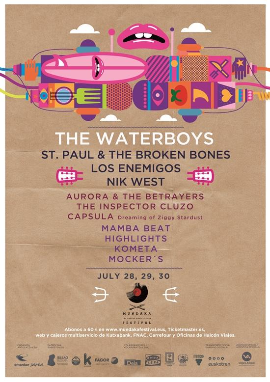 Nuevas confirmaciones para el mundaka festival nik west for Oficina kutxabank barcelona
